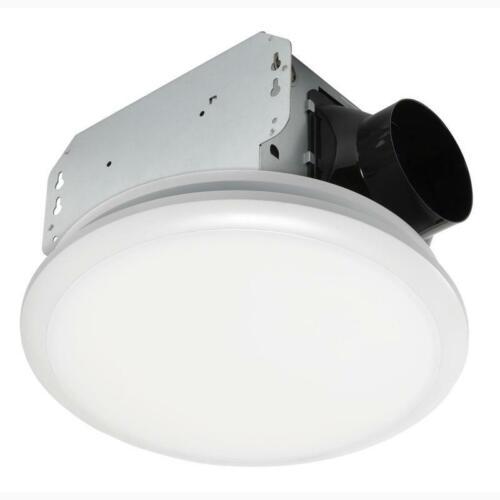 Homewerks Worldwide 7141-80 Bathroom Fan Integrated LED Light Ceiling Mount