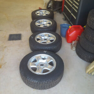 Toyota Rav 4 Tires and Rims