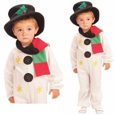 Kleinkind Kinder Schneemann Kostüm Jungen Mädchen Olaf Weihnachten - Olaf Kostüm Kind