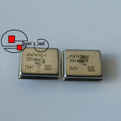 1 Vectron 454y4745-1 200mhz Ocxo Crystal Oscillator