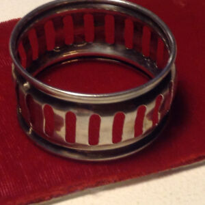 Antique 2 Ring Sterling Silver