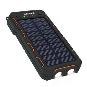 Solar Powered Charger 15000 mAh, Portable, BRAND NEW, UNOPENED