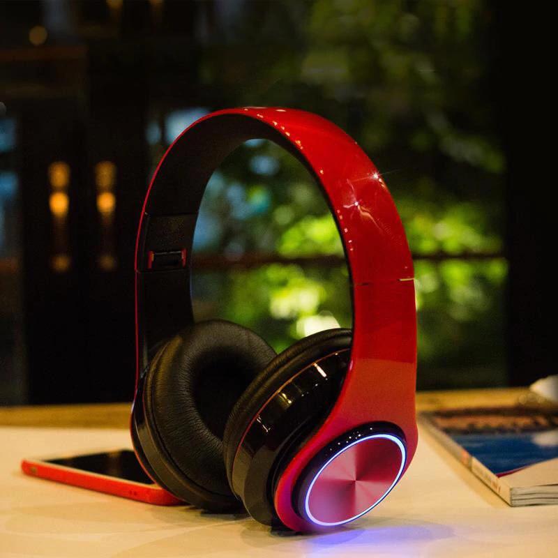wireless bluetooth headphones super bass foldable stereo