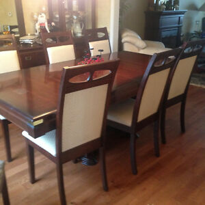Dining/Kitchen parson Chairs - Set of 6 +2 more