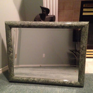 Green Marble Frame High End Mirror