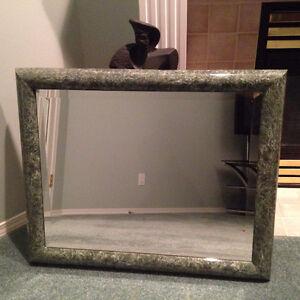 Green Marble Frame High End Mirror
