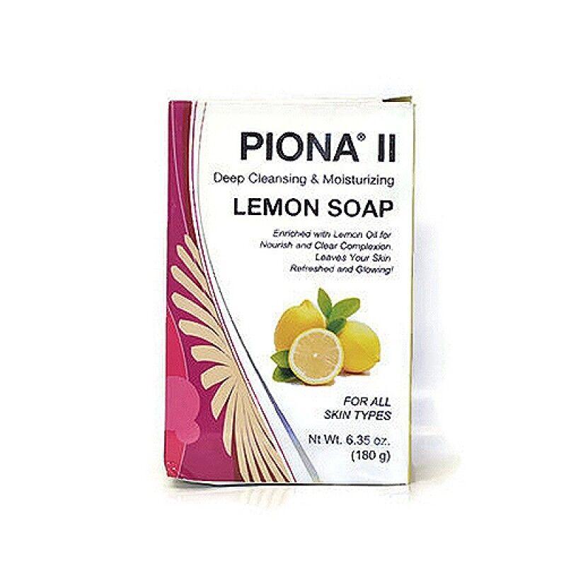 Piona II Deep Cleansing & Moisturizing Lemon Soap 7oz Health & Beauty