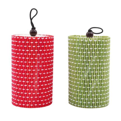 Green Bamboo Storage Box Organizer Jewelry Earrings Boxes Wood Storage Case