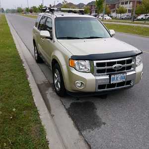 2012 Ford Escape Limited xlt AWD