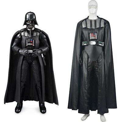 New Star Wars Darth Vader Cosplay Costume Full Set, used for sale  Shipping to Canada