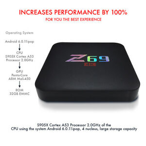 TV BOX Z69, ANDROID MEDIA STREAMING INTERNET
