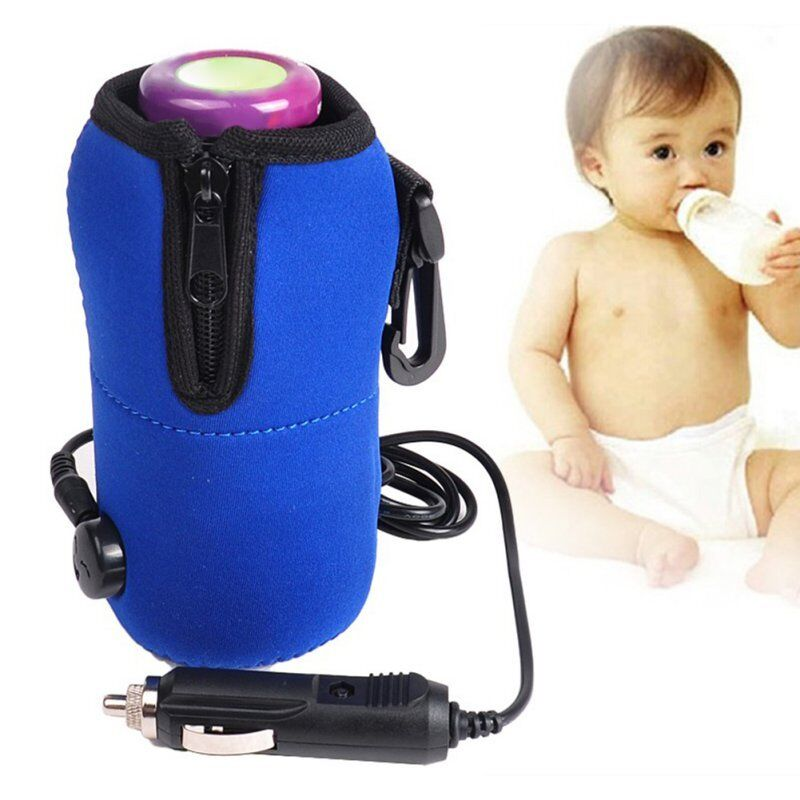 Portable Baby Bottle Heater Milk Warmer Car Food Water Cup T