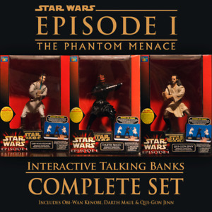 Star Wars: Interactive Talking Banks (Complete Set)