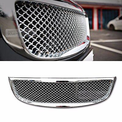 Bentley Style Chrome Front Bonnet Grille For KIA 2015-2017 2018 Sedona Carnival