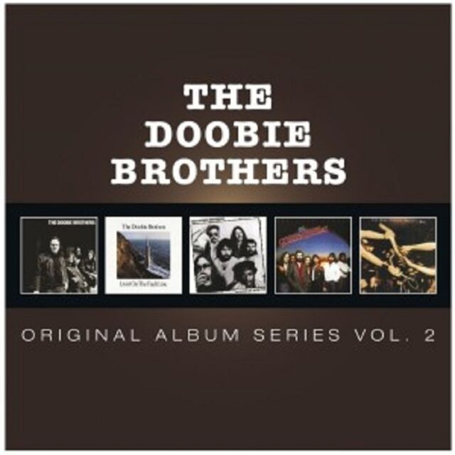 THE DOOBIE BROTHERS - ORIGINAL ALBUM SERIES VOL.2 5 CD NEU