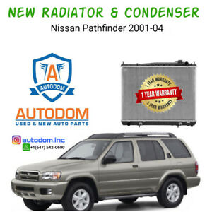 New Radiator and Condenser Nissan Pathfinder 2001-04