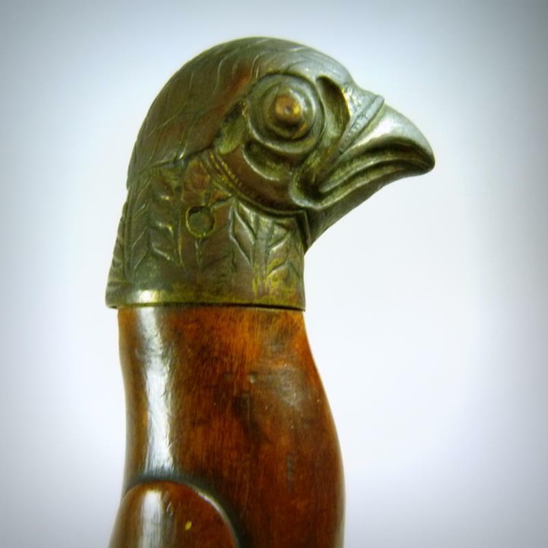 Antique Indonesian Dagger Kris Sword Bird Head