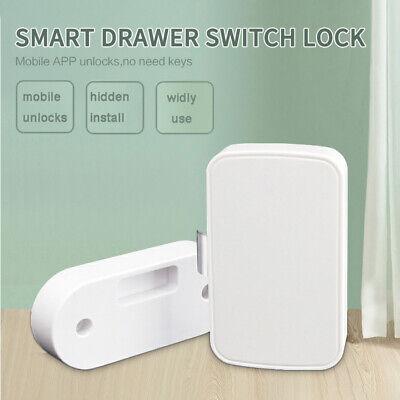 Electronic Bluetooth Smart Hidden Cabinet Lock Door Drawer Digital Security Us