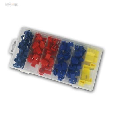 200xKabelverbinder Stoßverbinder Schrumpfverbinder Rot 90 + Blau 90 + Gelb 20