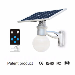 Solar Moon light, 4 watt, 720 lumen, 10 amp/Hr 3.2 v battery