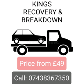 24/7 Cheap Car Van Jeep 4x4 Breakdown Recovery Tow Truck Service