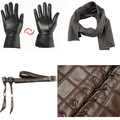 Game of Thrones 8 Costume Arya Stark Cosplay Gloves Belt Pants Props Accessories](Arya Game Of Thrones Costume)