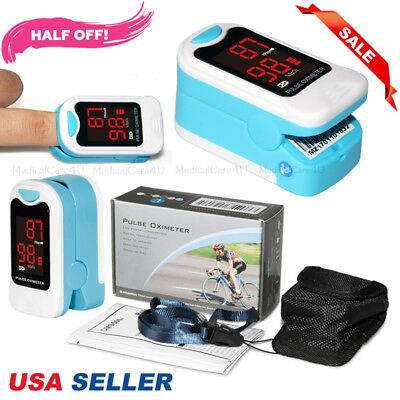 Fda Finger Pulse Oximeter Blood Oxygen Monitor Heart Rate Spo2 Sensor Meterusa