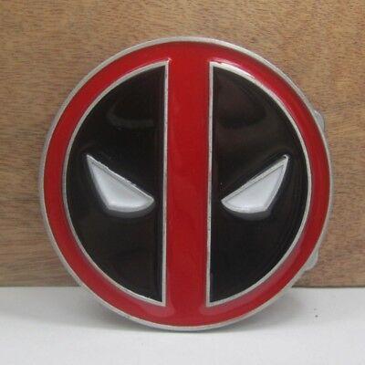 America Deadpool Weapon X Mask Metal Belt Buckle Fashion Mens Jewelry Gift