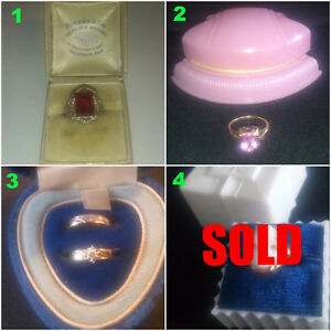 GOLD RINGS - LOW PRICE, HIGH VALUE! ENGAGEMENT, ANTIQUE