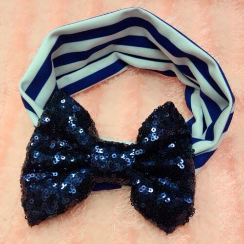 Cute Baby Girls Toddler Newborn Big Headband Headwear Hair Bow Accessories