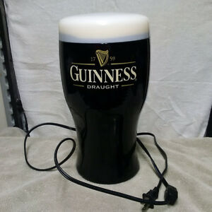 Guinness Pint Glass Lamp