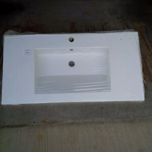 New One piece Sink / Counter Kitchener / Waterloo Kitchener Area image 1