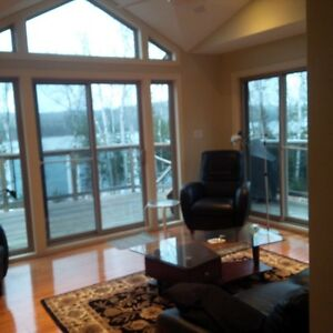 Waterfront home for rent