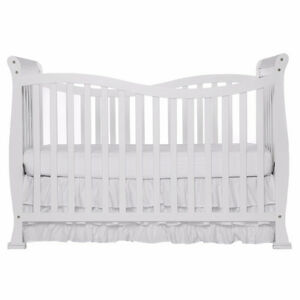 Dream On Me Violet 7 in 1 Convertible Life Style Crib, White Cambridge Kitchener Area image 2