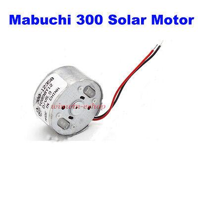 Dc 1.5v-9v 6v 7000rpm High Speed Mabuchi 300 Motor Micro Solar Motor For Toy Diy