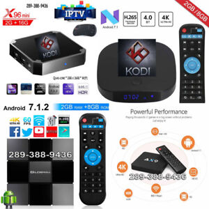 FAST Media Centre TV Box Brand New Plug'n'Play