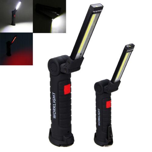 LED COB AKKU KFZ Arbeitslampe Werkstattleuchte Stablampe Magnet Handlampe USB WM
