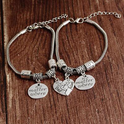 Hot Best Friend Letter Bracelets Heat Shaped Bracelet Jewelry Gifts Girl (Best Friend Jewelry Bracelets)
