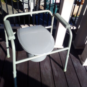 Never-Used Commode and Shower Seat - home medical device