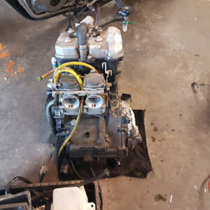 1995 ninja 250 engine for parts only