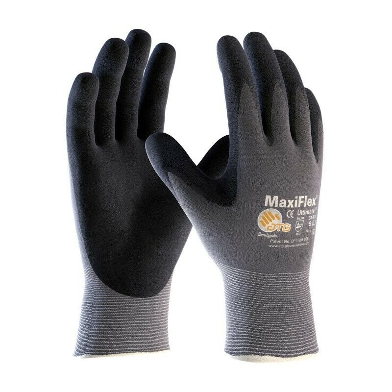 PIP GTek 34-874 MaxiFlex Ultimate Nitrile Micro Foam Coated Gloves – XXSM – 3XL Business & Industrial