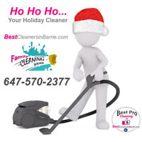 Ready for the Holidays? We clean homes/AirBnb/rentals