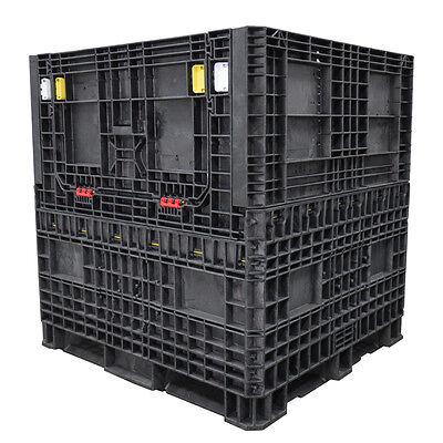 Duragreen 45 X 48 X 50 Heavy-duty Collapsible Bulk Container 2 Doors