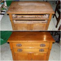Antique or Vintage Furniture Refinishing/Restoration Service