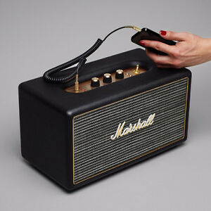 Brand New Marshall Stanmore Black Bluetooth Speaker System