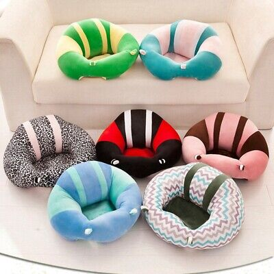 Baby Kids Seat Sit Support Protector Chair Infant Soft Car Cushion Sofa Pillow