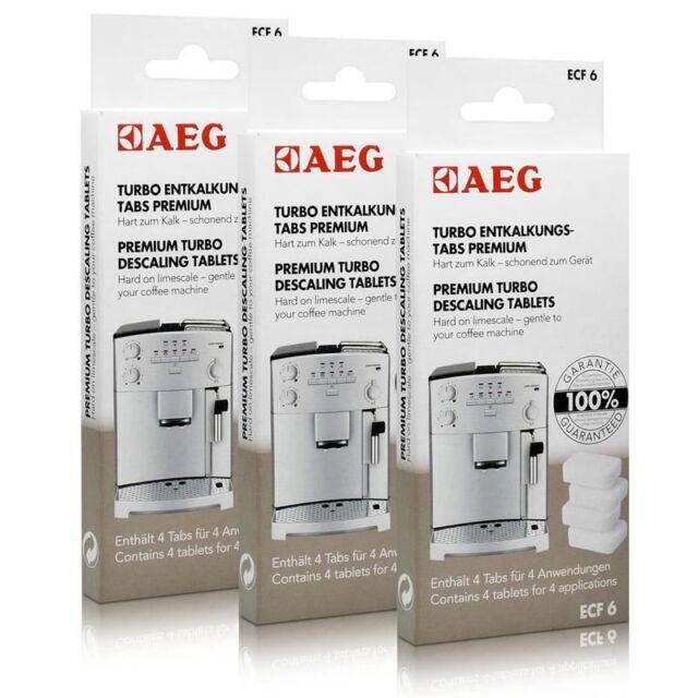 AEG ECF 6 Turbo Entkalkungs Tabs 900167297-  Sparfuchs Set = 3 Pakete je 4 Tabs