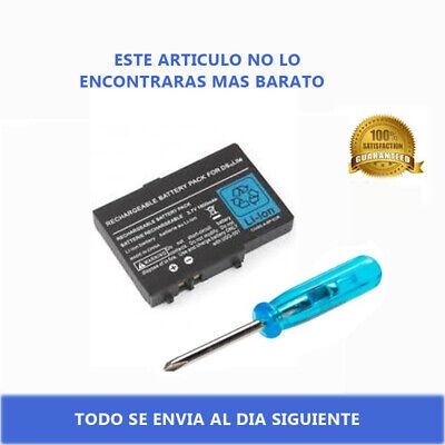 Bateria Nintendo DS Lite Compatible USG-003 3.7V 2000mAh Repuesto Reemplazo