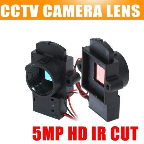 IR Cut M12 Mount Lens 5Mp HP Dual Filter Switcher For IP AHD CVI TVI CCTV Camera
