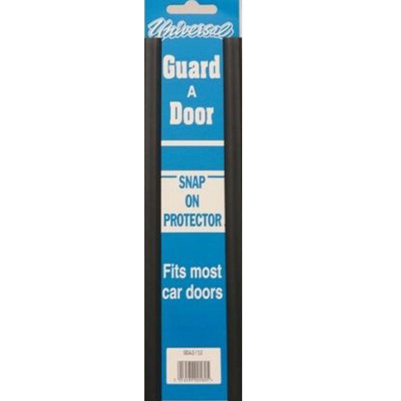 PAIR OF UNIVERSAL DOOR GUARD PROTECTORS FITS MOST CAR DOORS BLACK PROTECTIVE